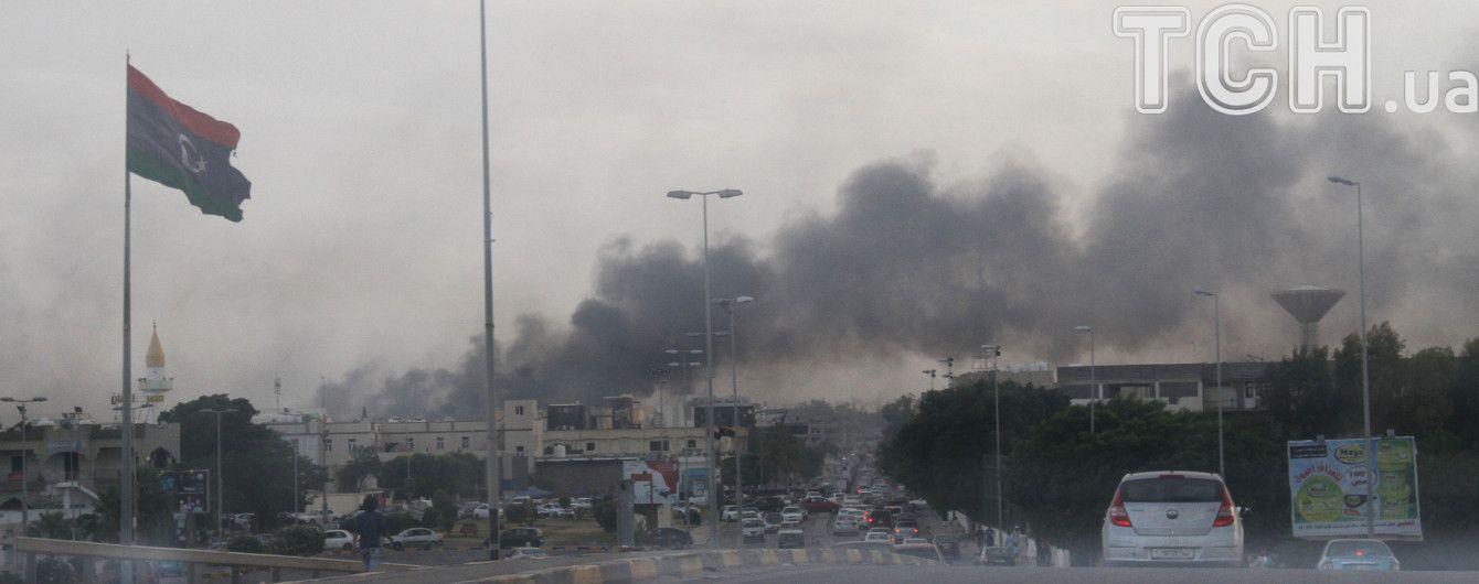 В Ливии возобновились кровавые бои за столицу Триполи