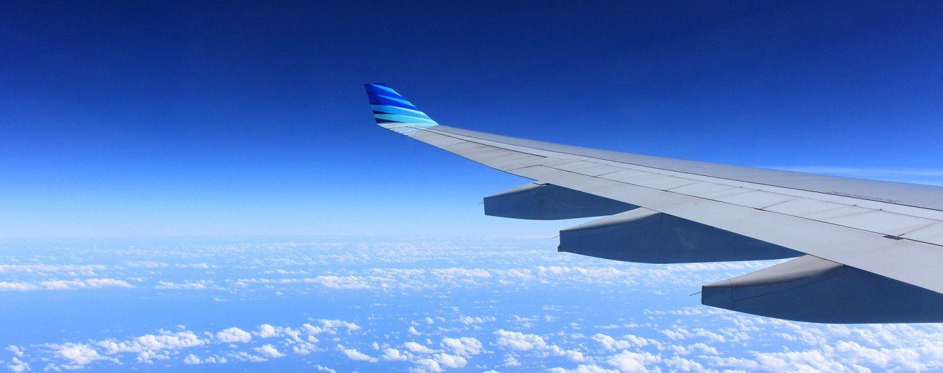 Воздушный портрет: в США самолет рисует свой силуэт в небе