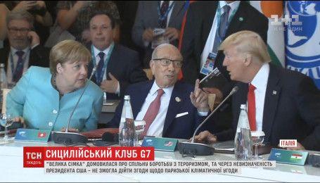 Участники саммита G7 пригрозили России новыми санкциями, если Путин не успокоится