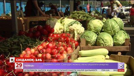 Заморозки встановили рекордні ціни на овочі та фрукти