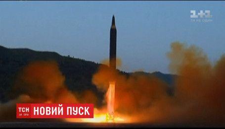 Северная Корея запустила ракету в сторону Японии