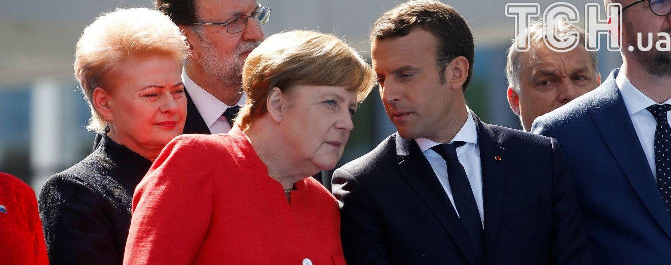 """""""Нормандский формат"""" без Путина. Порошенко встречается с лидерами Франции и Германии"""