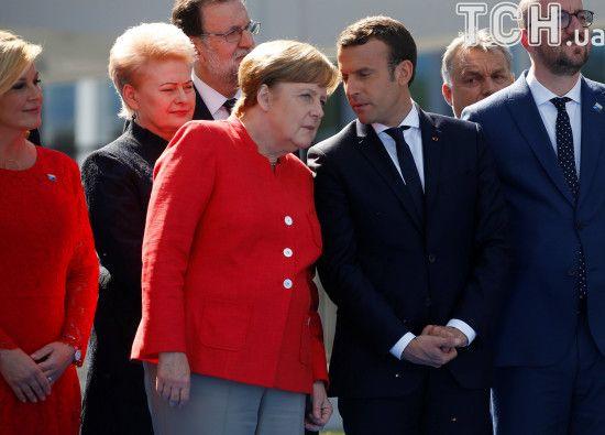 """""""Нормандський формат"""" без Путіна. Порошенко зустрічається з лідерами Франції та Німеччини"""