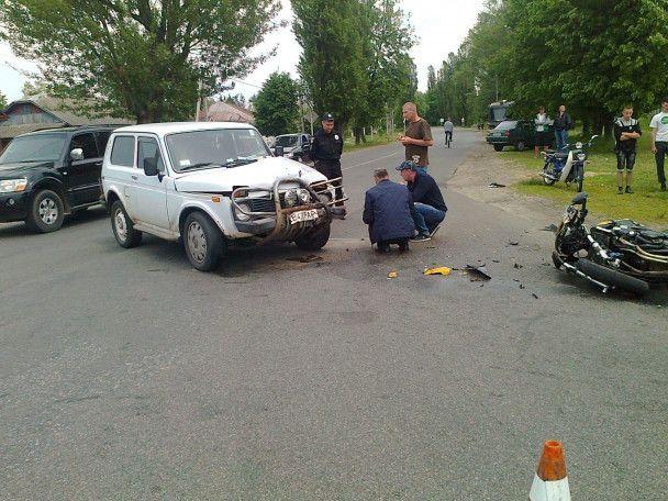 На Чернігівщині священик Московського патріархату збив мотоцикліста