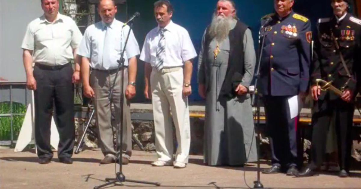 Священник Мирон Ковалевский