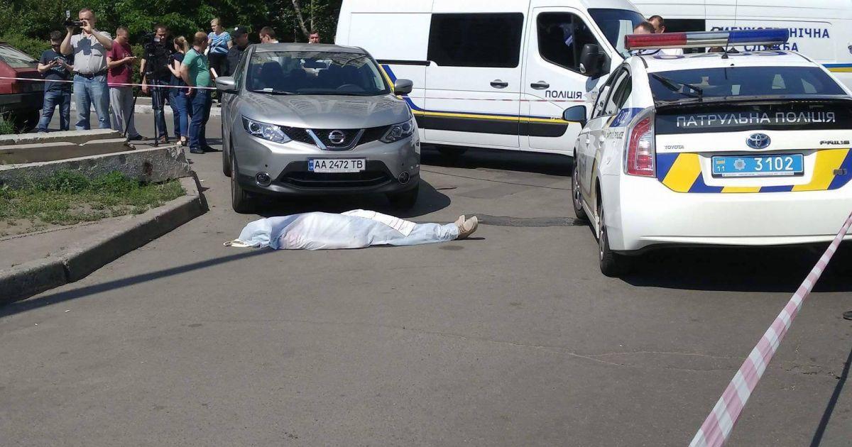 Фото с места инцидента