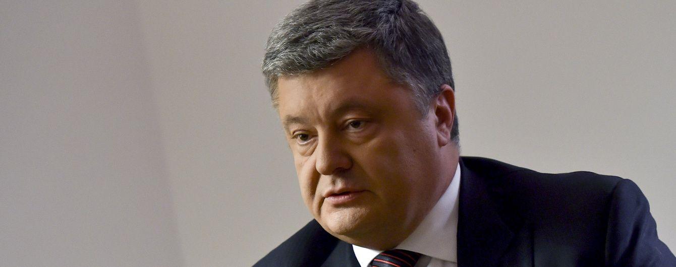 Порошенко заверил в готовности США усилить санкции против РФ