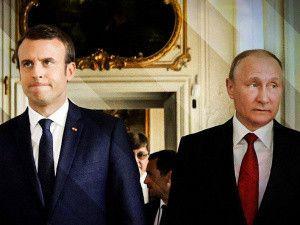 Макрон проти Путіна: хто кого?