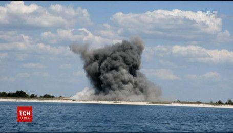 В акваторії Кінбурнської коси знайшли 167 снарядів часів Другої світової війни