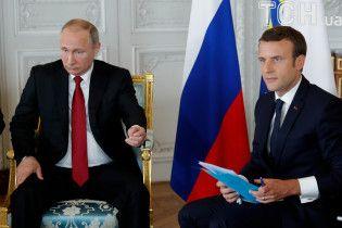 """Путин во время встречи с Макроном назвал королеву Франции Анну Ярославну """"русской"""""""