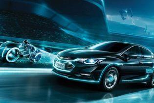 На китайский рынок выходит особый Chevrolet Cruze Tron