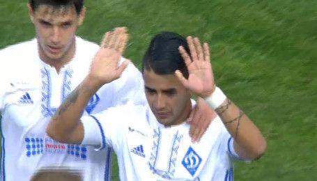 Динамо - Черноморец - 1:0. Видео гола Гонсалеса