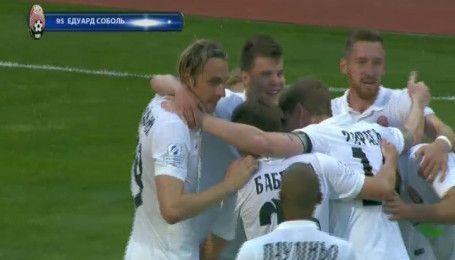 Зоря - Олімпік - 1:0. Відео голу Соболя