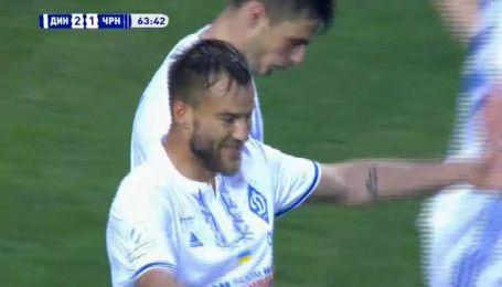 Динамо - Черноморец - 2:1. Видео гола Ярмоленко
