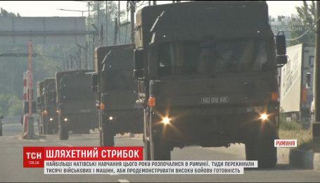 """В Румынии начались крупнейшие учения НАТО """"Благородный скачок"""""""