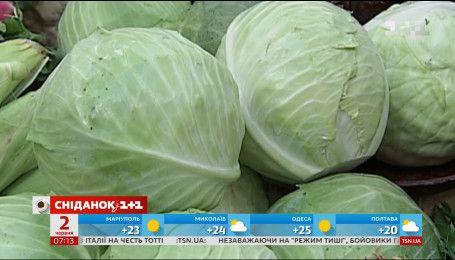 """В Україні сильно здорожчали овочі """"борщового набору"""""""