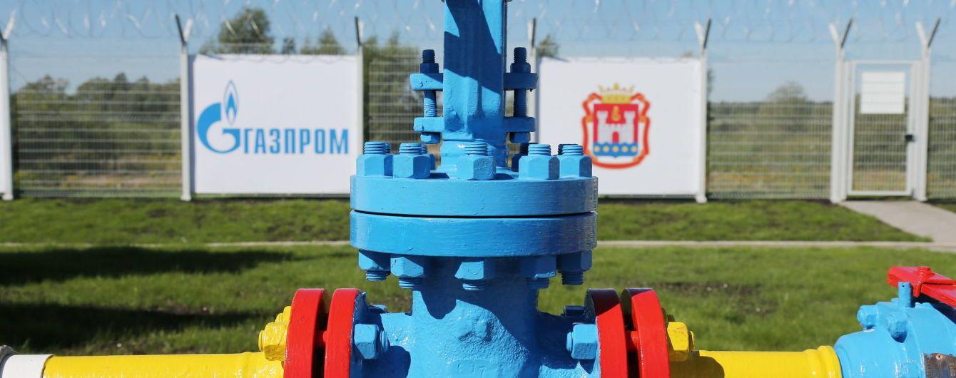 """""""Газпром"""" в этом году поставил на оккупированный Донбасс 1,5 млрд кубометров газа"""