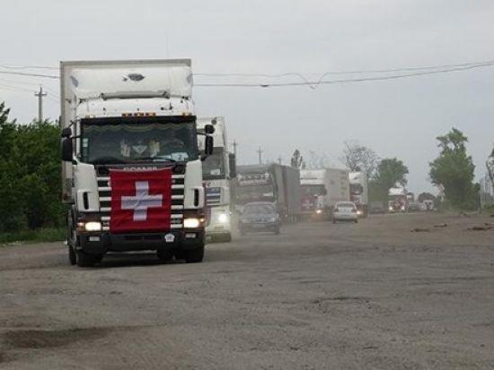 Спостерігачі ОБСЄ помітили конвой із понад десятка вантажівок на кордоні РФ і ОРДЛО