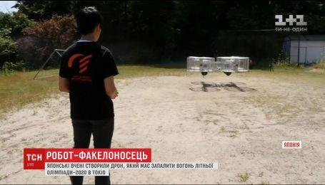 В Японии изобрели робота-факелоносца, который зажжет огонь Олимпиады-2020