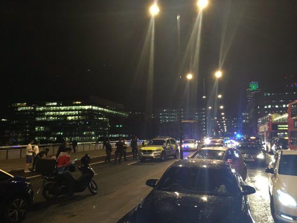 В Лондоне на мосту произошел теракт, есть жертвы и раненые