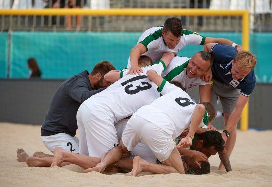 Українська команда пробилася у фінал Кубка європейських чемпіонів з пляжного футболу