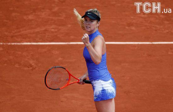 Українка Світоліна вийшла в 1/8 фіналу Roland Garros