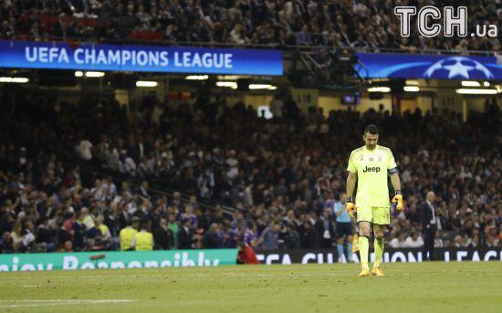 """Буффон після поразки від """"Реала"""": У мене буде ще один шанс виграти Лігу чемпіонів"""