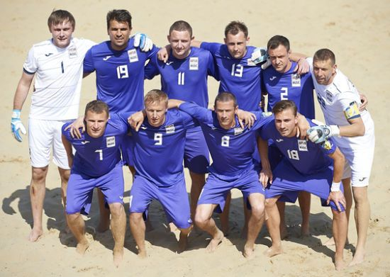 Українці  програли у фіналі Кубка європейських чемпіонів з пляжного футболу
