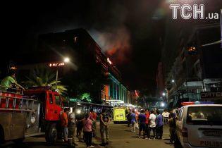 ИГ атаковало отель в столице Филлипин: десятки раненных