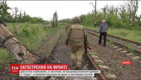 На передовій 4 українських військових отримали поранення