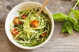 Модное блюдо: спагетти из кабачков