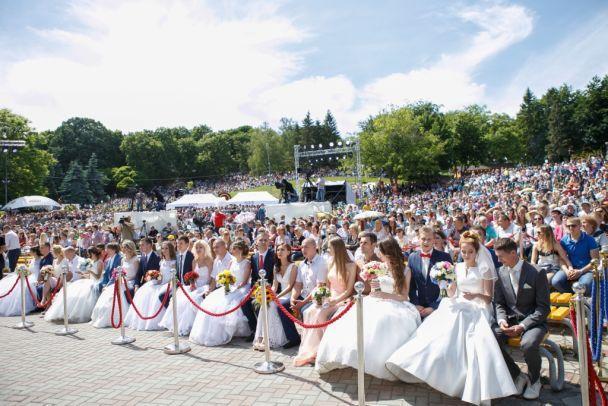 """В Киеве отгремела """"Большая Свадьба"""" на 40 000 гостей"""