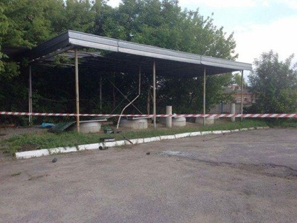 ВКиевской области произошел взрыв наАЗС, один человек умер
