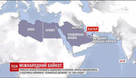 Катар обвиняют в слишком тесных отношениях с Ираном и рядом экстремистских группировок