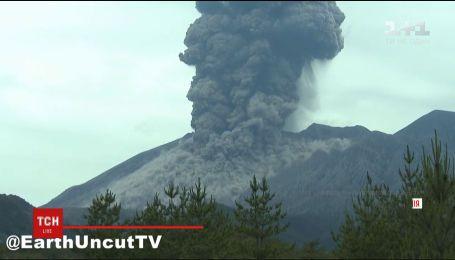 В Японії прокинувся один із найпотужніших вулканів