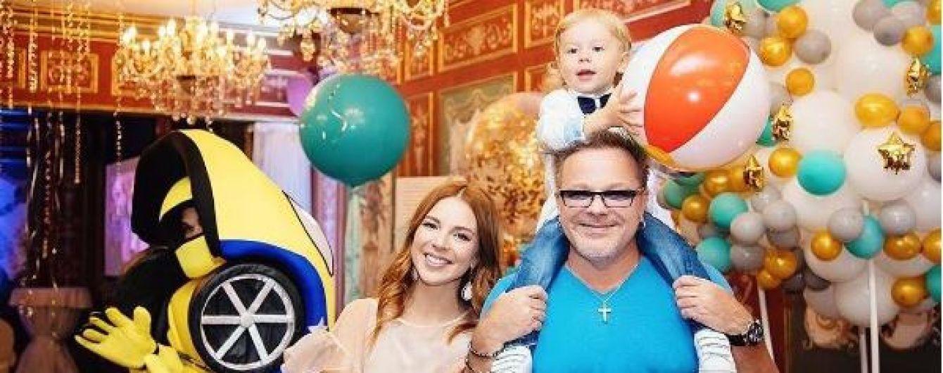 Подольская и Пресняков поделились фото с яркого празднования дня рождения сына