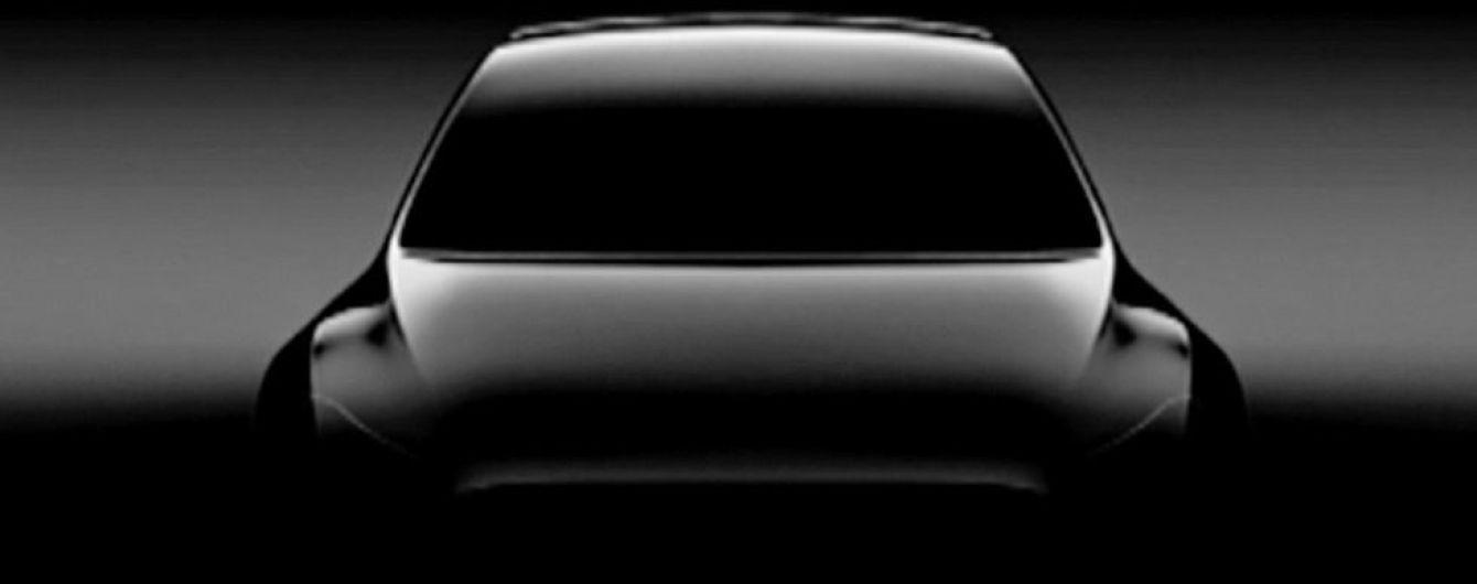 Tesla показал тизер вседорожника Model Y