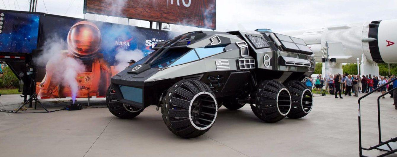 NASA выкатила новый космический автомобиль