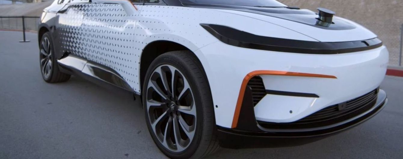 Электрокар Faraday Future примет участие в гонке на Пайкс Пик