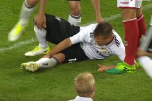 """Хавбек """"Баварії"""" ціною травми забив неймовірний гол через себе"""