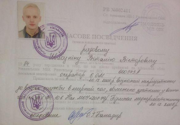 Шабунін біля військкомату журналіст Філімоненко бризнув вобличчя згазового балончика