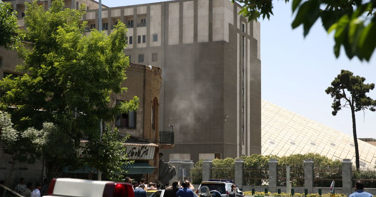 Фото с места нападения