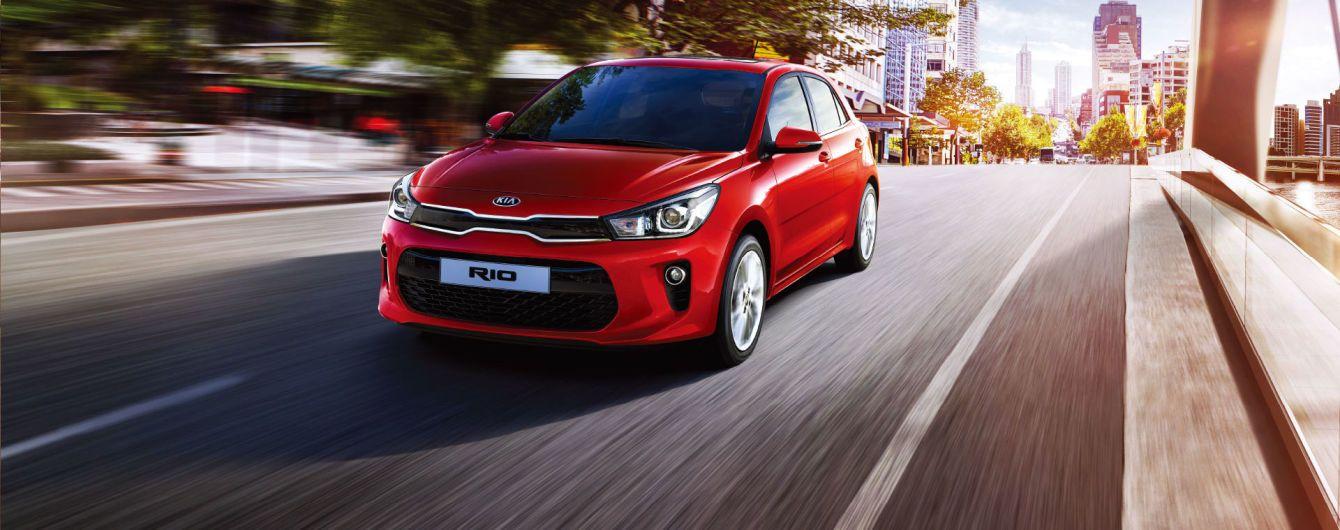 На украинском рынке появился Kia Rio нового поколения
