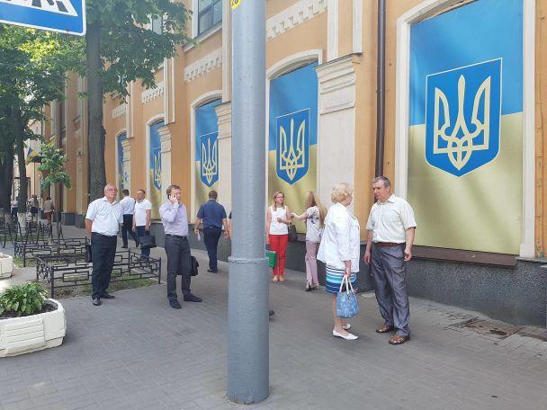 В Высшем админсуде в Киеве перепутали минирование с пожаром