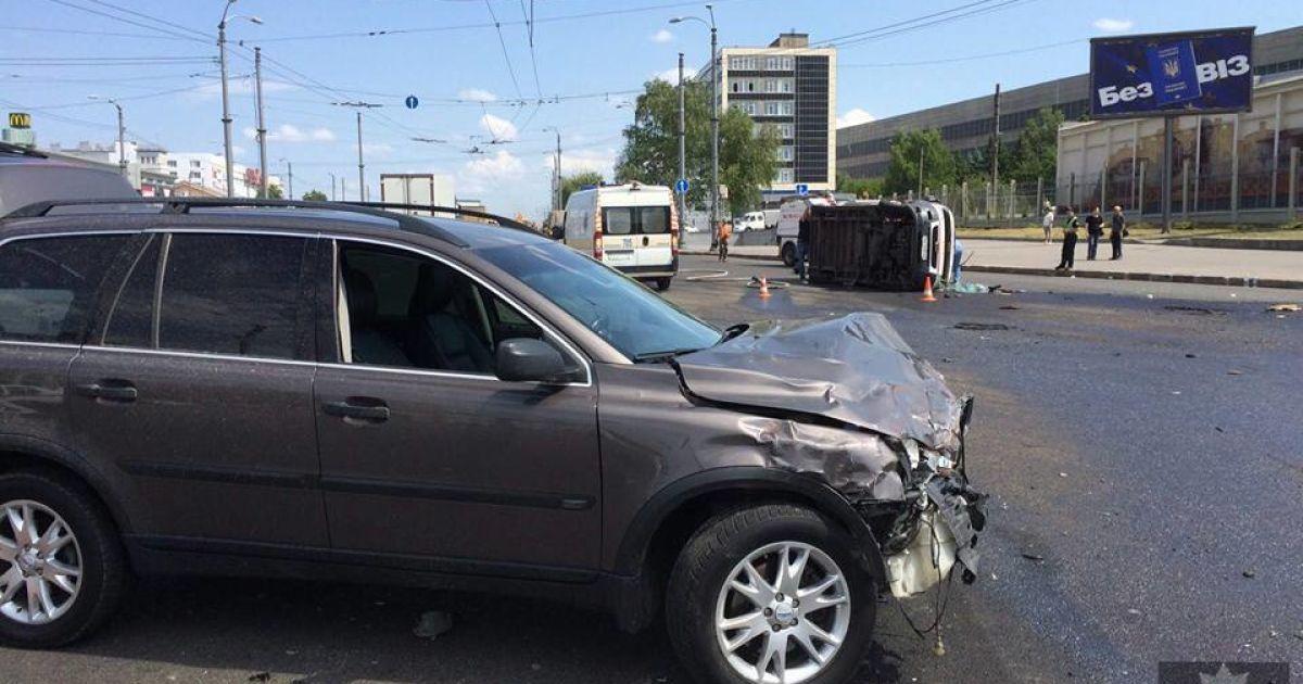 У Харкові сталася моторошна ДТП @ Facebook/Патрульна поліція Харкова