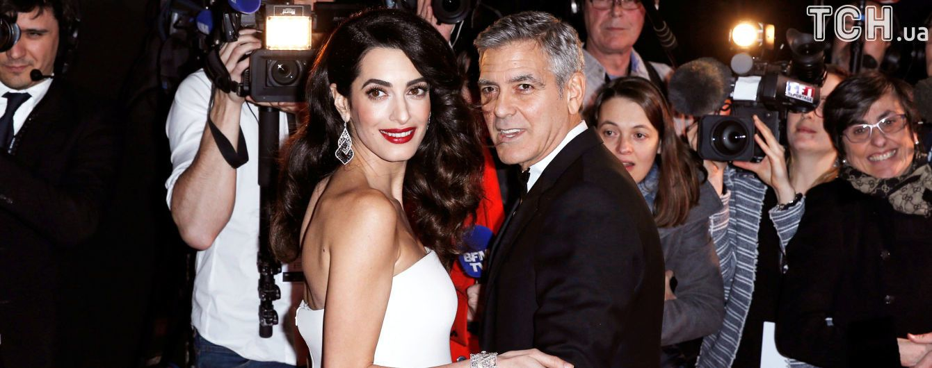 Батьки Амаль Клуні прокоментували народження онуків