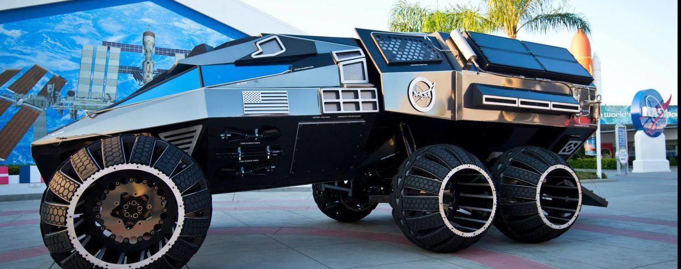 Космический бэтмобиль. NASA показала новое авто для Марса