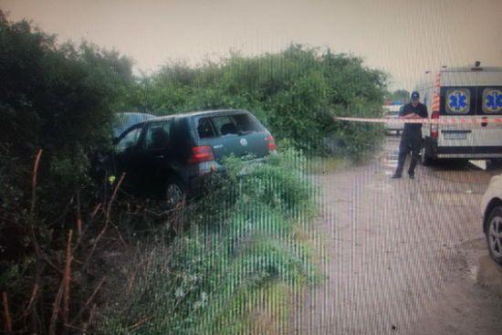 Закарпатські поліцейські показали відео гонитви зі стріляниною за викрадачами автівки