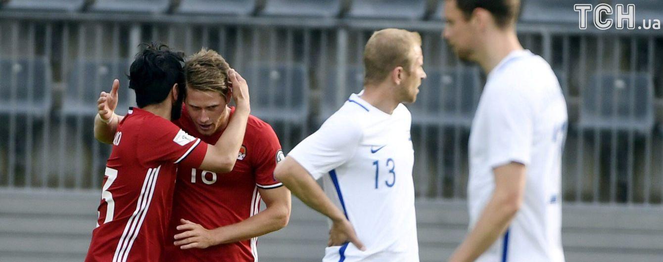 Сборная Финляндии не смогла победить в товарищеском матче перед встречей с Украиной