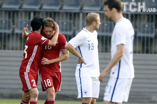 Збірна Фінляндії не змогла перемогти у товариському матчі перед зустріччю з Україною